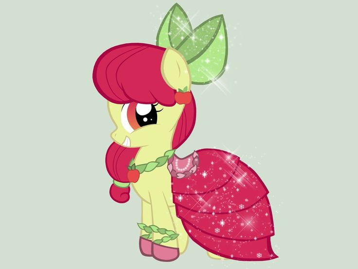 Apple Bloom - Gala Dress by miesmauz.deviantart.com on @deviantART