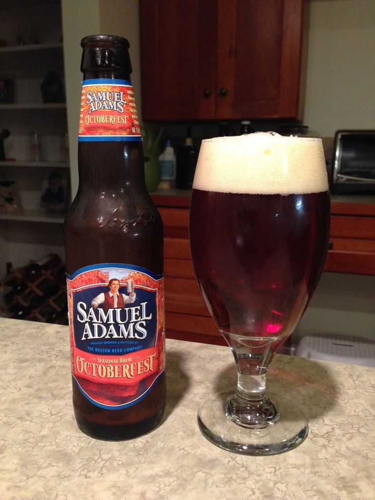 Samuel Adams OctoberFest:  Day 136: Samuel Adams OctoberFest from The Boston Beer Company. Style of beer is 'Oktoberfest'. ABV is 5.3%.   Read more at http://www.beerinfinity.com/beer-of-the-day-samuel-adams-octoberfest/.