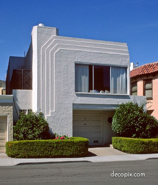 Art Deco Residential: 401 Best Art Deco Homes Images On Pinterest
