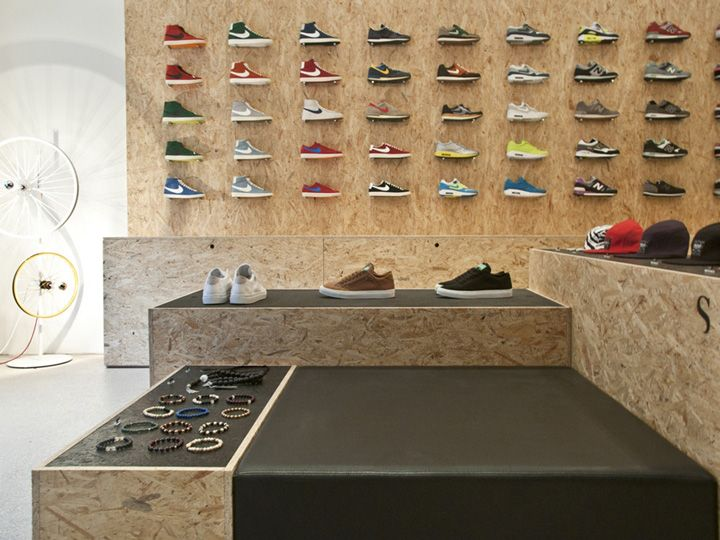 Suppa shoe store by DLF PRODUCTDESIGN, Stuttgart store design
