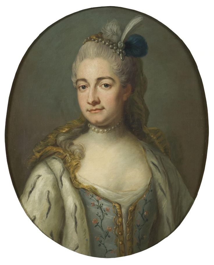 Hedvig Katarina de la Gardie, 1732-1800   Jakob Björck   [1726-1793]   Nationalmuseum, Sweden   Public Domain