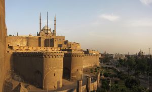 Cairo Citadel (Saladin Citadel) of Cairo,  Egypt is a medieval Islamic fortification. The Citadel was fortified by Ayyubid ruler Salah al-Din (Saladin) between 1176 and 1183 CE, to protect it from Crusaders.