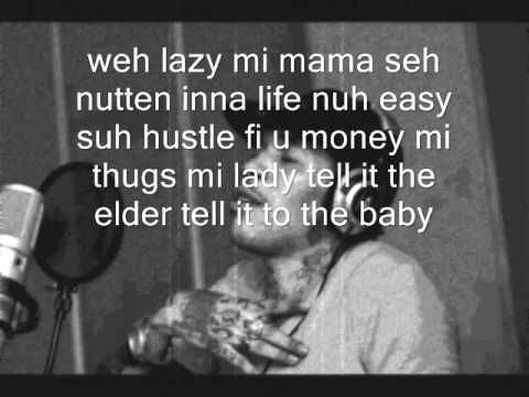 Vybz Kartel Lyrics to Life Is What You Make It - YouTube