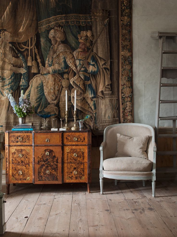 Gustavian chest of drawers, ca 1790. - Gallery