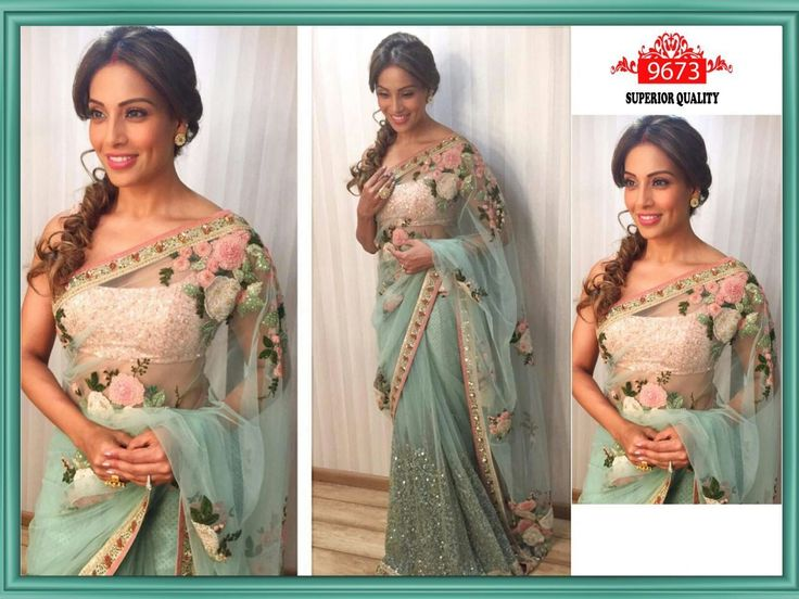 Bollywood Ethnic Designer Saree Party Wear Women lehenga Indian Sari Latest New | eBay