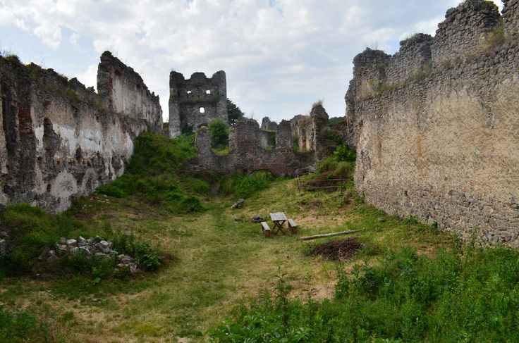 Čabraď ruins