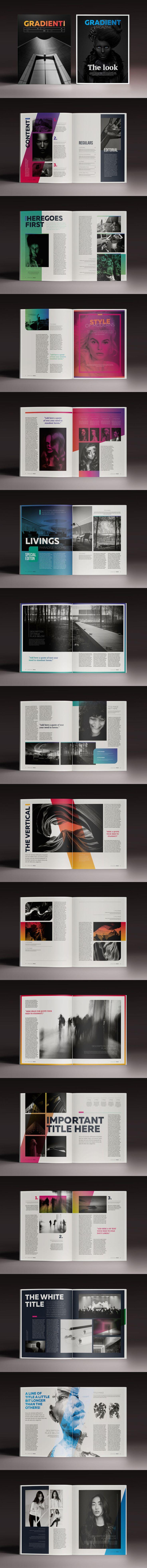 108 besten Magazine Layout Bilder auf Pinterest | Editorial design ...