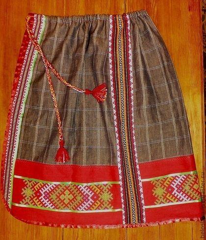 ПОНЕВА РАСПАШНАЯ - понева,юбка,народная одежда,славянские символы,русская одежда