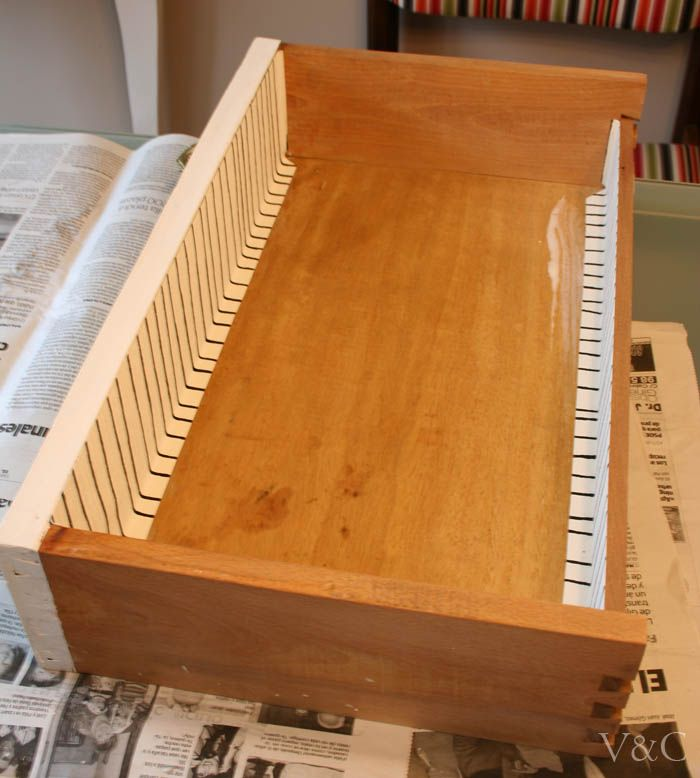 M s de 25 ideas incre bles sobre forrar cajones en - Restaurar muebles con papel ...
