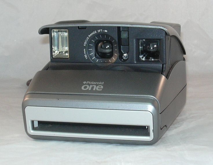 Vintage Polaroid One Instant Film Camera for Impossible Project 600 Film by CanemahStudios on Etsy