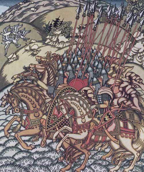 illustration by Ivan Bilibin