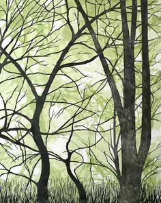 14 Best Woodcut Art Images On Pinterest