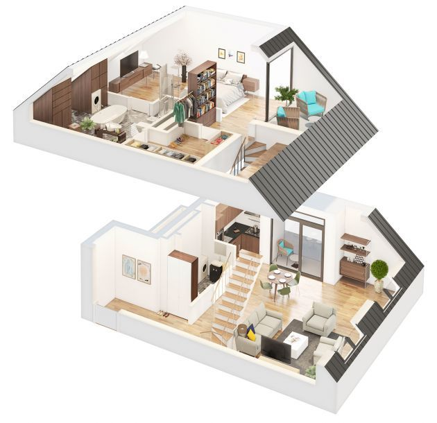 258 best plan images on Pinterest Home plans, Attic and Elements