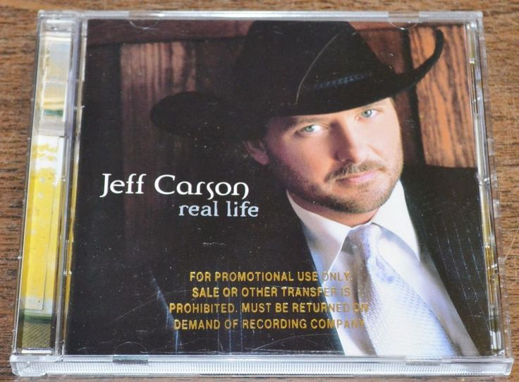 Real Life  by Jeff Carson CD Sep 1998 Atlantic #ContemporaryCountry