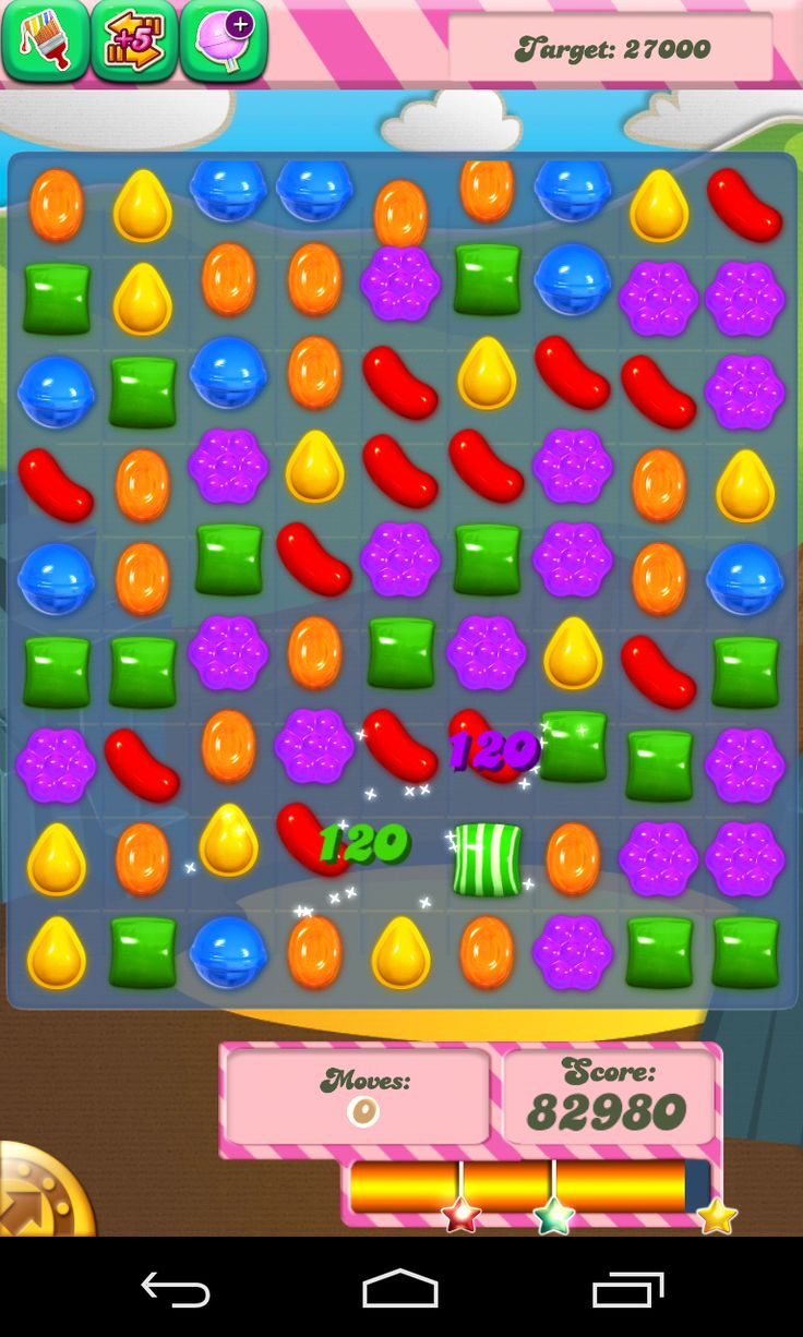 Download the sweet and colorful world of candy crush saga. For those who don't know about it now should know that it's and app that is must have. Candy crush saga is a puzzled game made by the developer King.