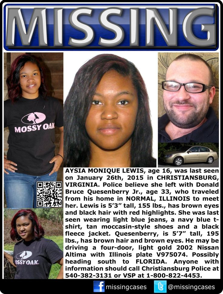 29 best MISSING WANTED UNIDENTIFIED images on Pinterest Amber - missing people posters