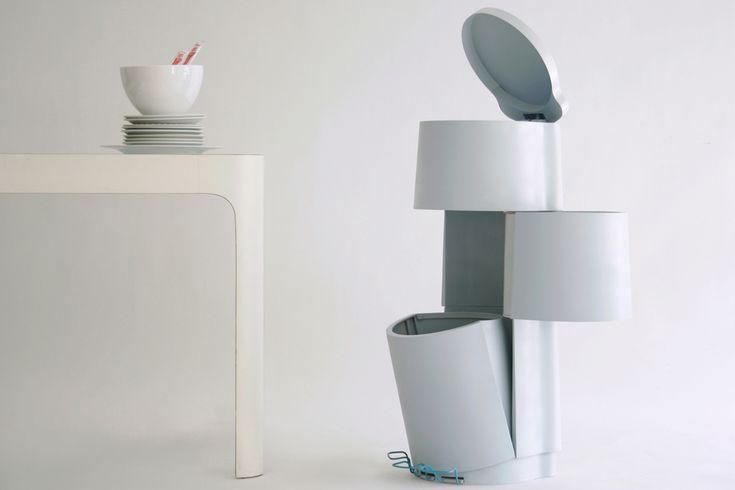 Poubelle TRI 3 - Projet développé par Constance GUISSET en collaboration avec Grégory CID