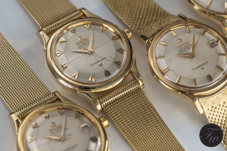 Omega Constellation  Want something a little cheaper? Here are 8 #vintage #watches  you can buy for less than $500 that will instantly boost your image. http://www.alphareboot.com/8-vintage-watches-under-500-instantly-boost-image/