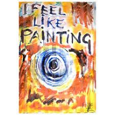 I feel like painting