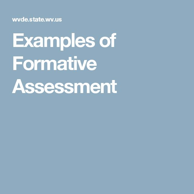 Best 25+ Formative assessment examples ideas on Pinterest - formal assessment