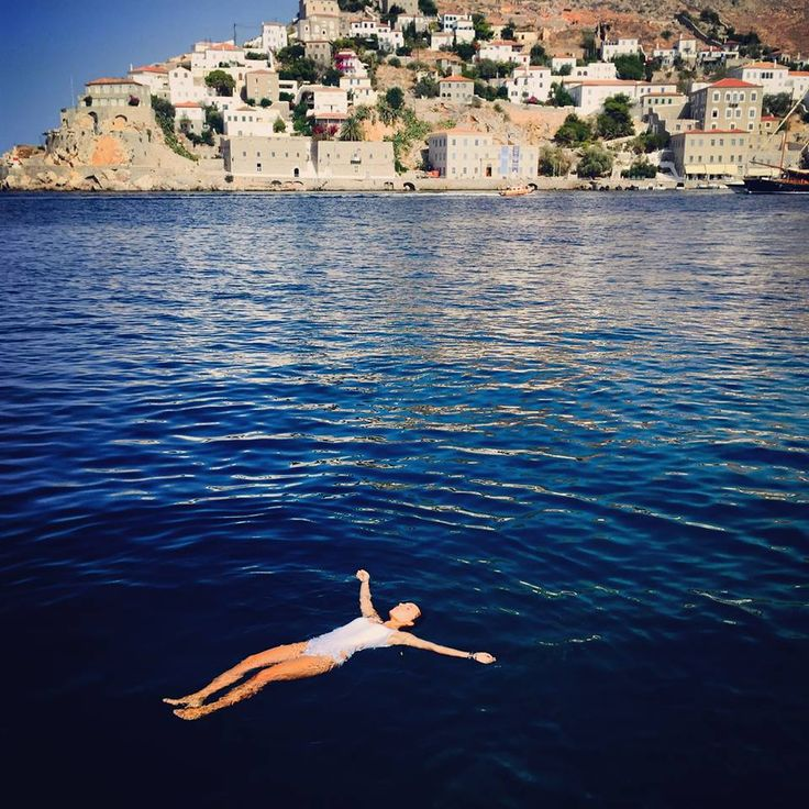 Most comfortable bed in the world... #Hydra #VarietyCruises #AegeanSea