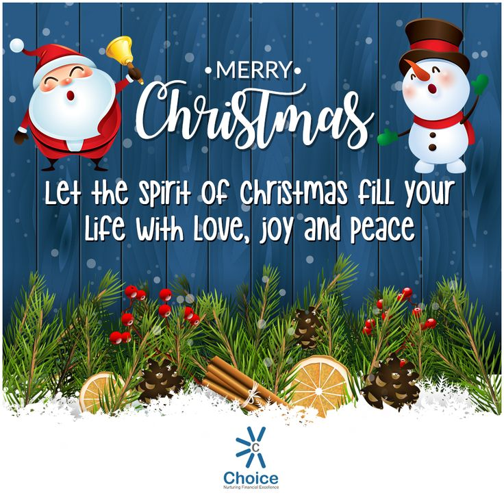 #ChoiceBroking Choice Family wishes you all #merrychristmas