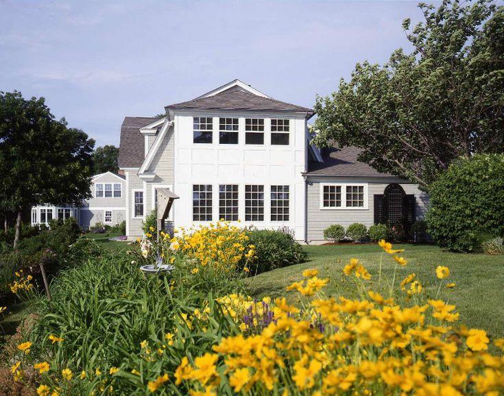Rye Harbor: Cape Cod Style House Plans. Click thru to see pics & plns. #barnhouseplans #postandbeamhomes #barnhomes #coastalhomes