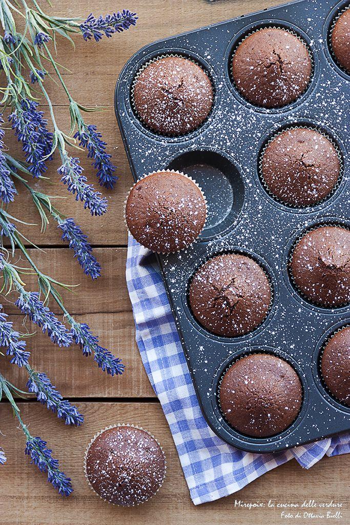Muffins al latte e cacao