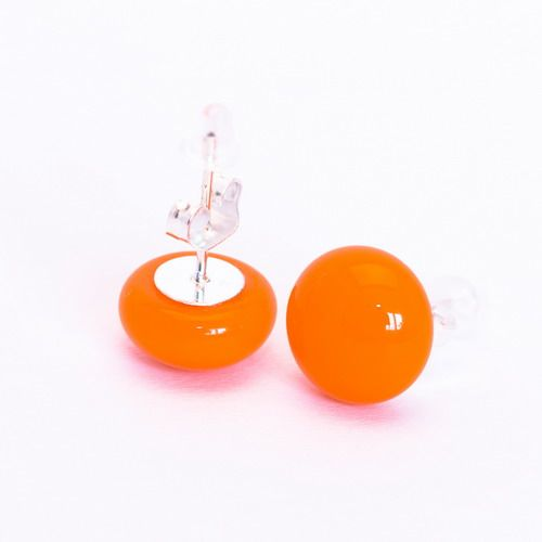 Narancs fülbevaló