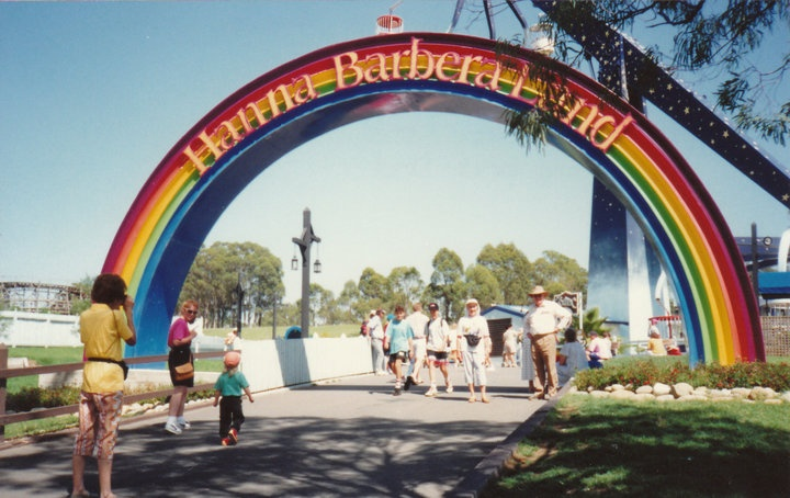 Hanna Barbera Land Rainbow