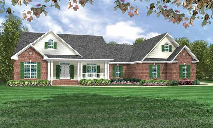 Country House Plan With 2200 Square Feet And 3 Bedrooms S