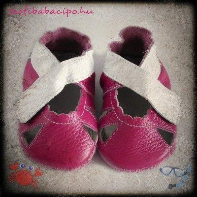 Szofi Hot Summer pink puhatalpú kislány szandál  Alapszín: pink Dekor: fehér