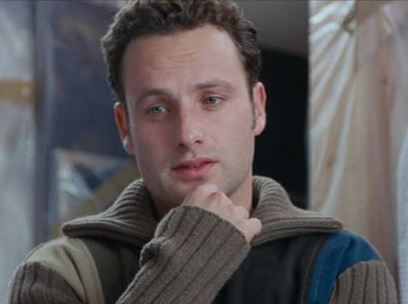 Image result for andrew lincoln as Mark on love actually