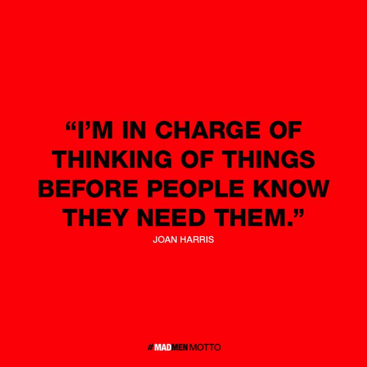 Clever Mad Men Quotes Reflect Character Words of Wisdom - My Modern Metropolis