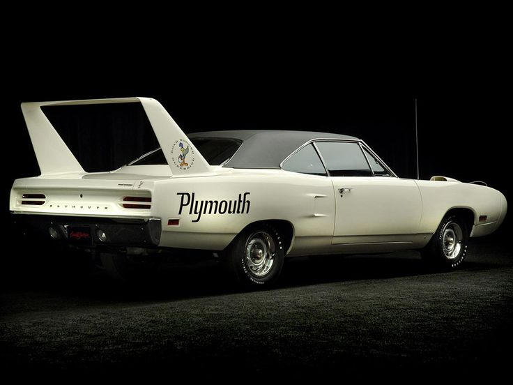 1970 Plymouth Superbird. Only 1,920 were produced; 1,162 with the 440-4 barrel carb, 665 with the 440 Six-Pack and 93 with the 426 Hemi.