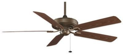 Fanimation Edgewood® Deluxe Wet Location 60-Inch x 14.6-Inch Ceiling Fan in Oil-Rubbed Bronze