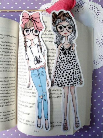 Marcador de libro fashion