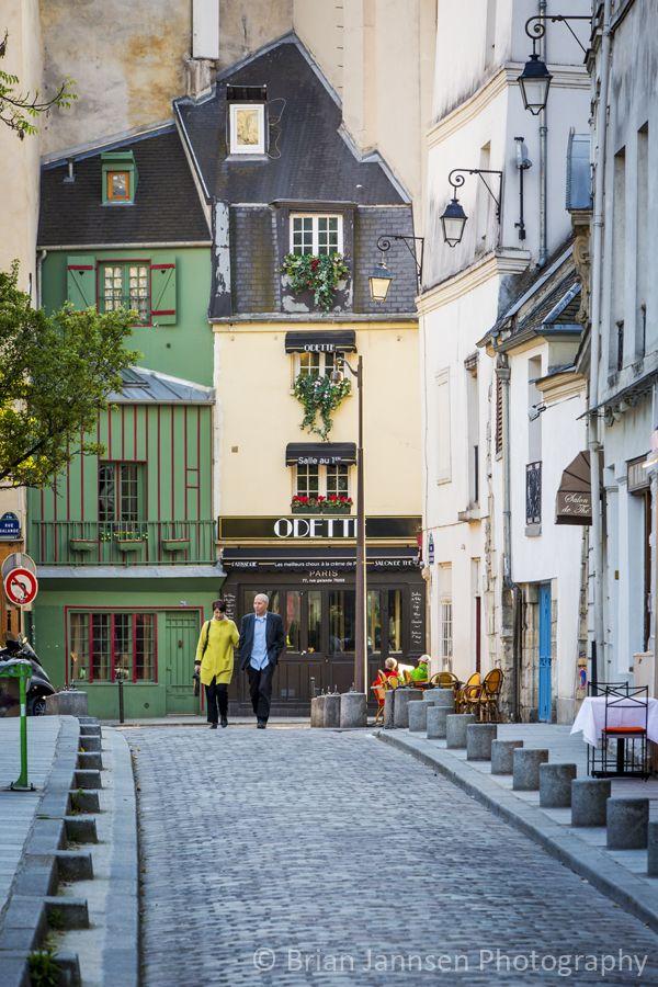 Parisian Stroll, Latin Quarter, Paris France. © Brian Jannsen Photography