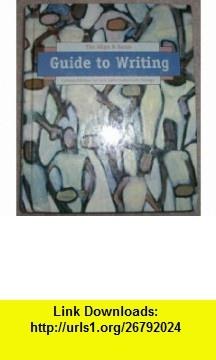 Guide to Writing Custom Edition for Salt Lake Community College (Allyn and Bacon) (9780536919977) John D. Ramage, John C. Bean, June Johnson , ISBN-10: 0536919976  , ISBN-13: 978-0536919977 ,  , tutorials , pdf , ebook , torrent , downloads , rapidshare , filesonic , hotfile , megaupload , fileserve