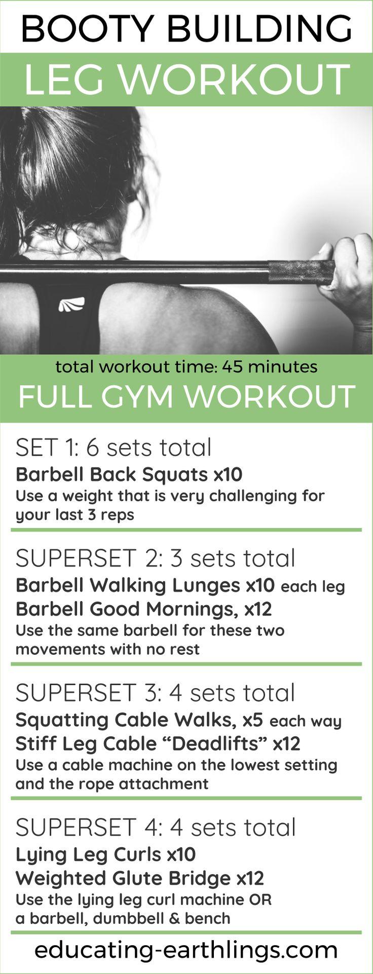 Booty Building Leg Workout-8436