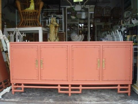 Orange Ficks Reed Credenza Ficks Reed Furniture