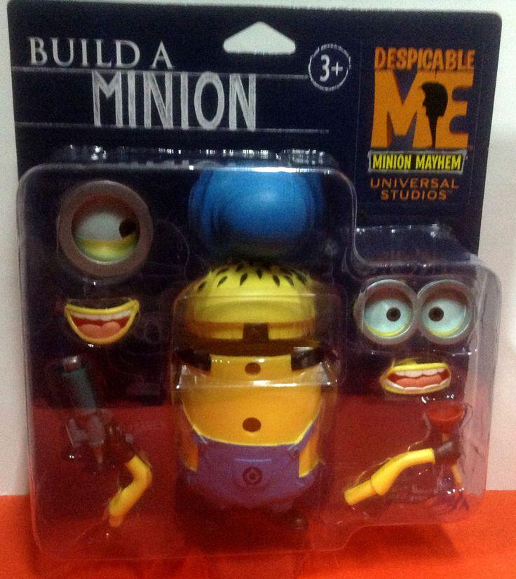 Build A Minion Despicable Me Minion Mayhem Universal Studios  #universalstudio
