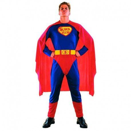 Disfraces Personajes hombre | Disfraz de Superman. ¿Te atreves a salvar el mundo usando tus super poderes? Compuesto de mono de cuerpo entero y capa roja. Talla M/L. 15,95€ #superman #disfrazsuperman #disfraz #superheroe #disfrazpersonaje #disfraces