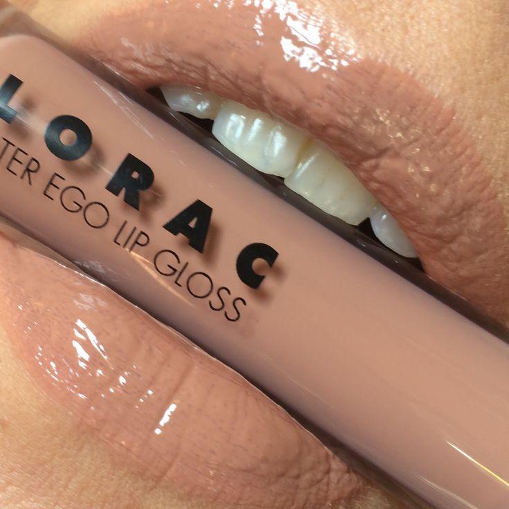 Lorac Alter Ego Lip Gloss: Visionary #Lorac #LipSwatch #LipGloss #LoracAlterEgo