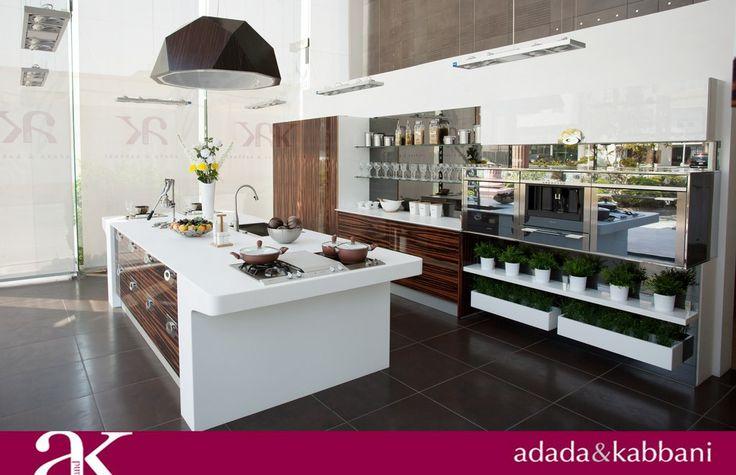 Adada & Kabbani Kitchen Model Our Showrooms are in Makkah, Jeddah, Riyadh & Khobar. For more inquiry please call us on 012-6641119 Ext# 166. Follow us: www.pinterest.com/adadakabbani