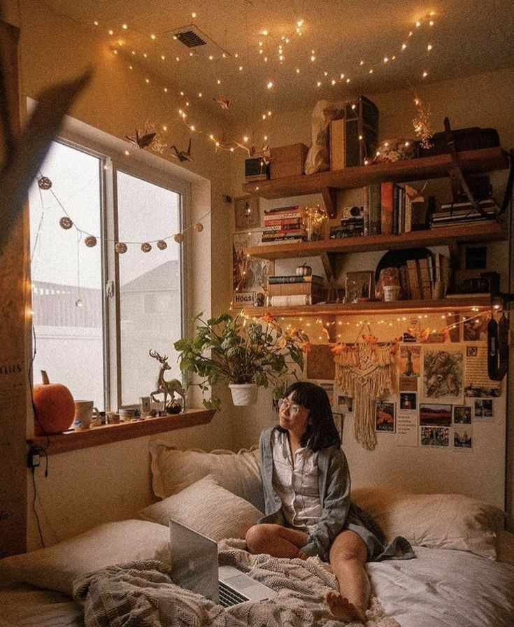 B E D R O O M Ideas C A L M Find Outfit Ideas Shopping And Street Style Inspiration To Help You Get Dr Room Inspiration Bedroom House Rooms Aesthetic Bedroom