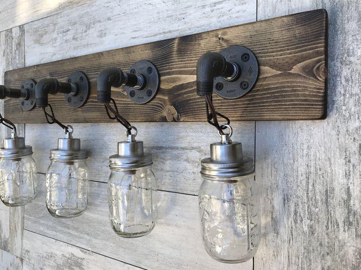 Best 25 Bathroom Lighting Fixtures Ideas On Pinterest: Best 25+ Rustic Vanity Lights Ideas On Pinterest
