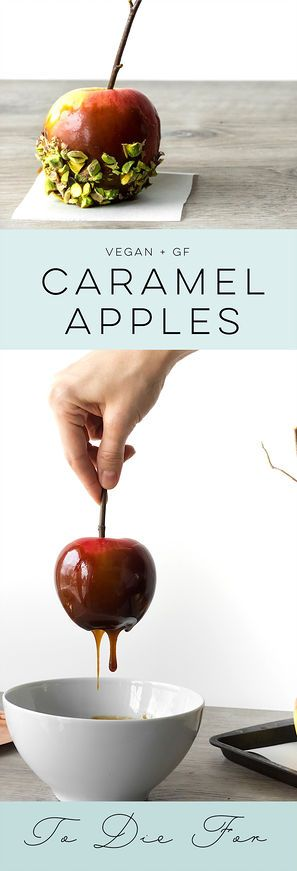 POMMES AU CARAMEL | Enlightened Decadence  Easy! No candy thermometer needed!
