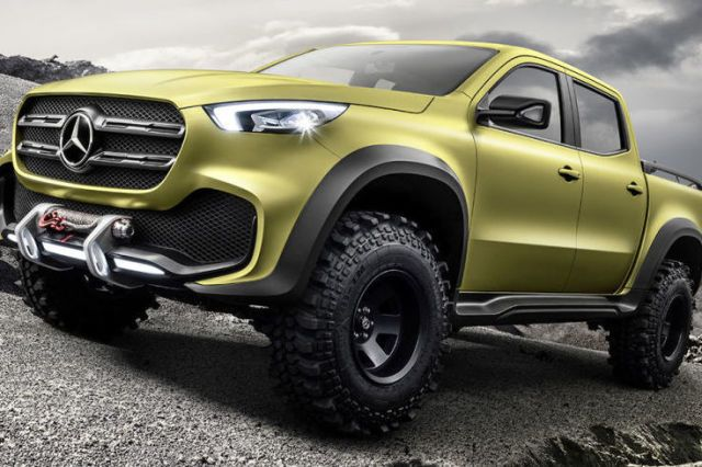 Mercedes Pickup Truck Concept: Here it Is  - PopularMechanics.com