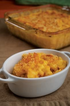 Mac and cheese made with cottage cheese, high in protien (but low in fiber, hmmm)